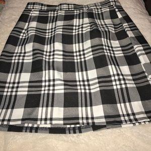 Plaid Skirt by Boohoo